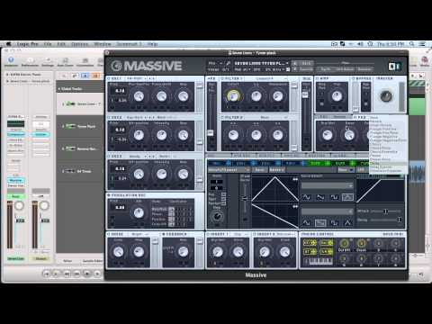 Massive Tutorial: Seven Lions - Tyven Pluck Synth
