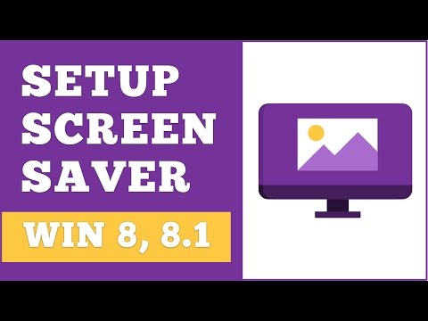How To Easily Setup Screensaver In Windows 8, 8.1