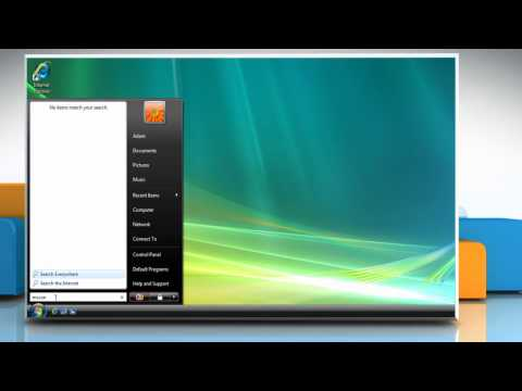How to stop programs from automatic startup in Windows® Vista