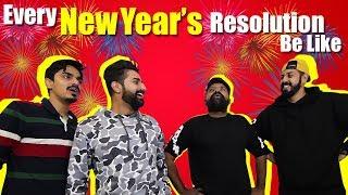 Every New Year's Resolution Be Like | Bekaar Films | Comedy Skit #NewYear #2019