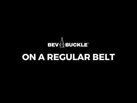 How to Wear the BevBuckle on a Regular Belt
