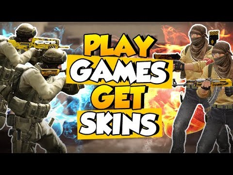 CS:GO - How to get skins just by playing games!