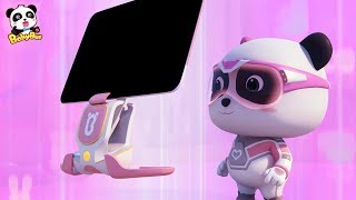 Super Panda's Cool Scanning Computer | Super Panda Rescue Team Compilation | BabyBus