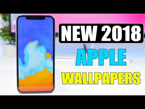 Get The NEW Apple 2018 WALLPAPERS ** On Any Device **