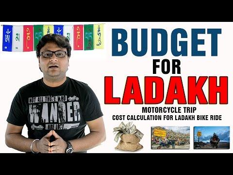Budget For Leh - Ladakh Bike Ride |  How Much Money You Need For Ladakh Bike Trip |