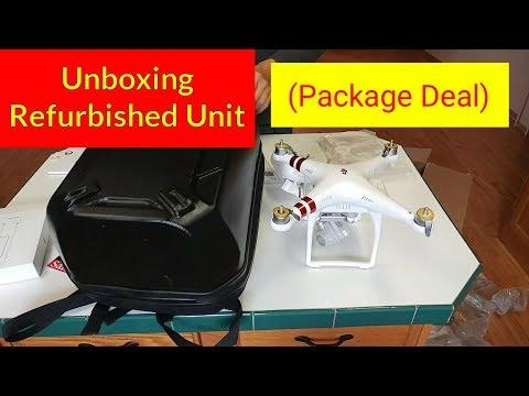 Unboxing: Phantom 3 Refurbished + Backpack + SanDisk Extreme 32 GB + More: DJI Drone Package Deal