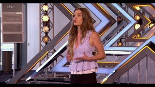 Holly Tandy: 15 Year Old Dedicates A Song To Her Grandpa.| The X Factor UK 2017