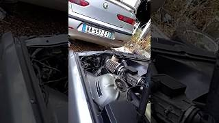 Bmw e36 318i sport air filter intake demo open air