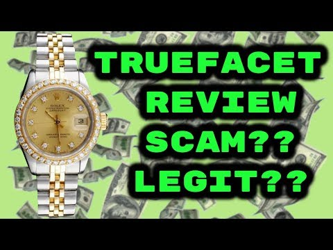 Is TrueFacet Legit or Scam? Buy Used Watches Jewelry Rolex