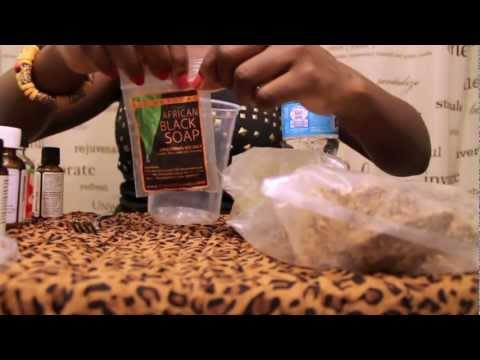 DIY: AFRICAN BLACK SOAP |  LIQUIFY & FRAGRANCE NATURALLY