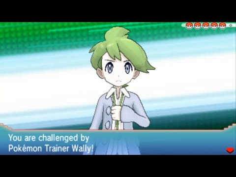 Pokemon Omega Ruby and Alpha Sapphire - Wally Battle (Victory Road)