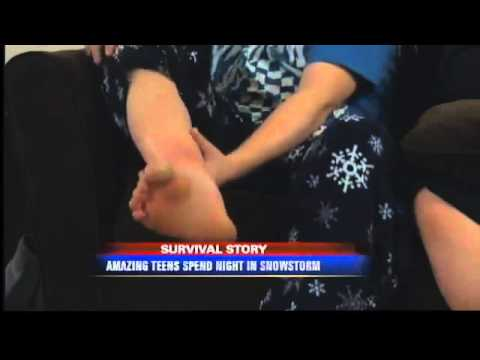 3 Teenagers Burn Snowmobile To Survive Being Stranded