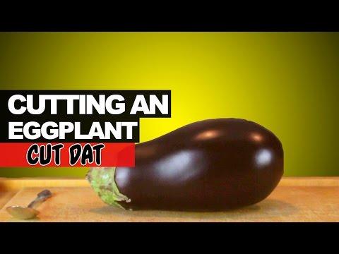Cutting an Eggplant