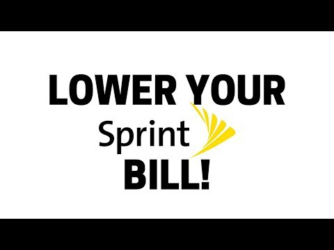 LOWER MY BILLS: SPRINT | SAVING SWAMI