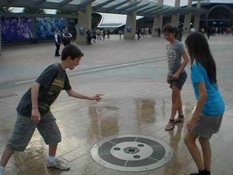 Fountain Fun at O2 (prior to Bon Jovi concert)