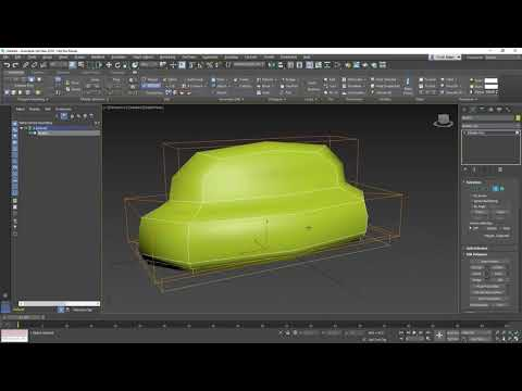 3ds Max Getting Started - Lesson 12 - Polygon Modeling Part 1