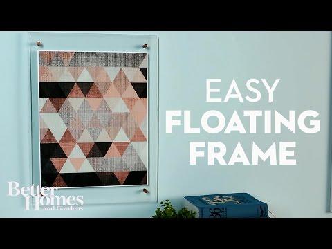 Easy Floating Frames