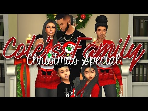 The Sims 4 | Cole's Family Christmas Special 🎄
