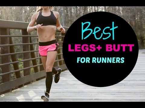 Leg + Butt Workout for Runners to Run Faster
