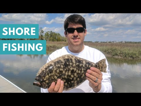(We found the) Flounder and Redfish | Fishing Charleston SC