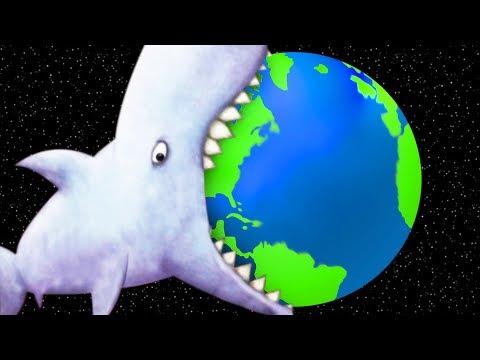 GIANT SHARK EATS THE EARTH - Tasty Blue Ending   Pungence