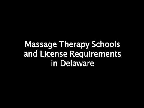 Requirements for Massage Therapy School in Delaware