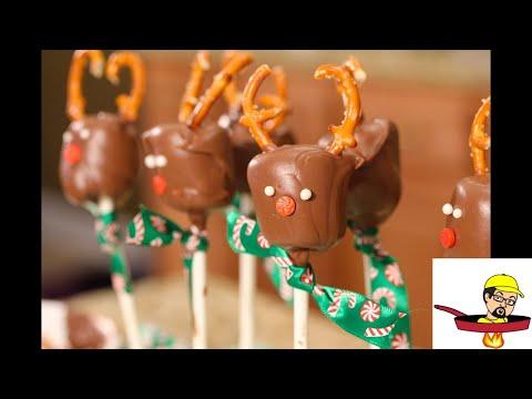 Chocolate Marshmallow Reindeer - CHRISTMAS