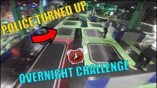 OVERNIGHT CHALLENGES ARE BACK! *BUSTED*