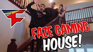 I MOVED INTO THE FAZE GAMING HOUSE!