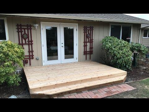 Step 3: New Deck - Final Step