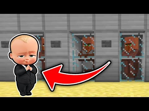 Minecraft : The BOSS BABY IS TAKING VILLAGERS (Ps3/Xbox360/PS4/XboxOne/WiiU)