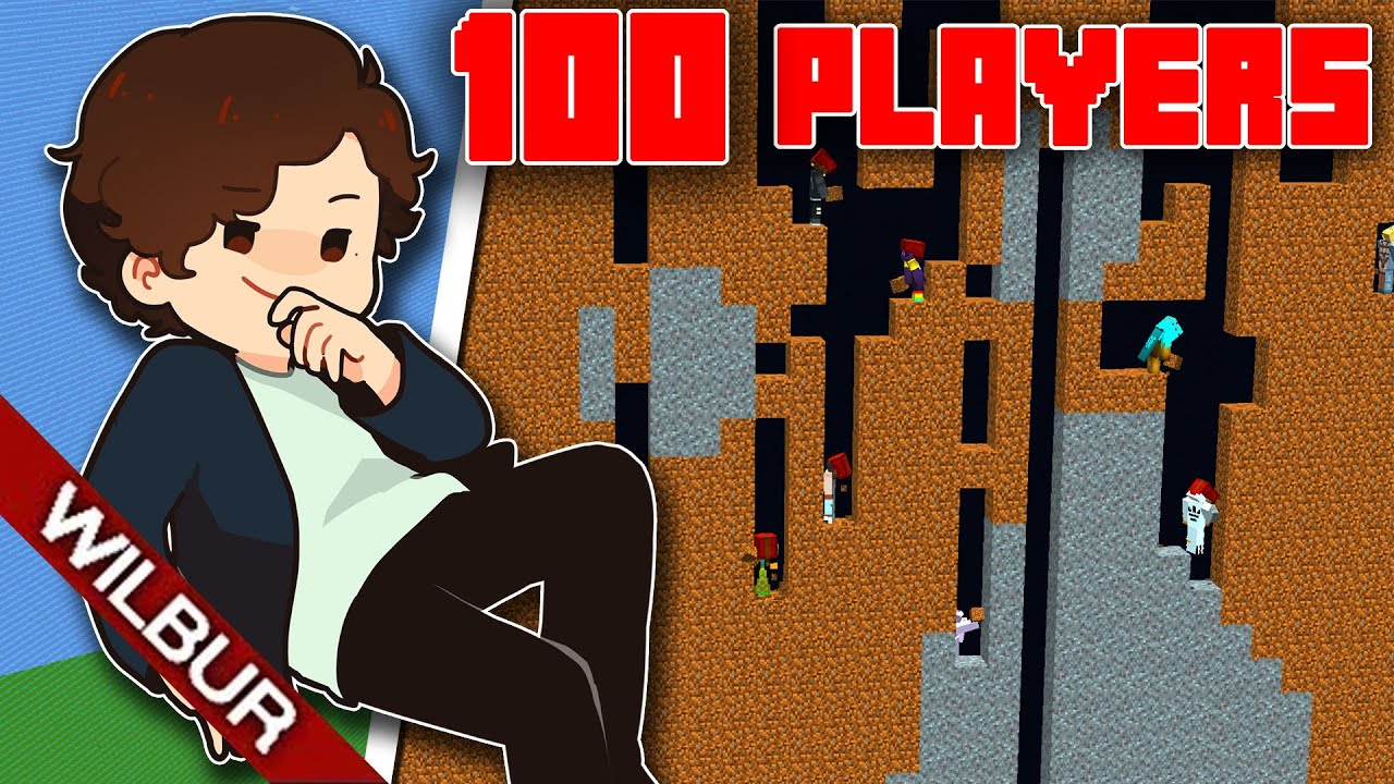 Making a 100 Player Ant Farm in Minecraft