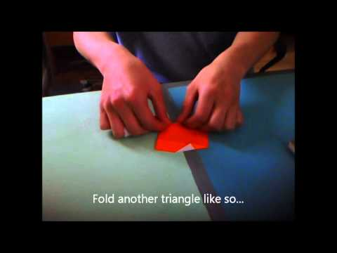 How to make a tetra icosahedron out of paper