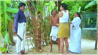 അവന് മുഴുവട്ടാ..! | Jayaram , Siddique , Jagathy Sreekumar - Kavadiyattam