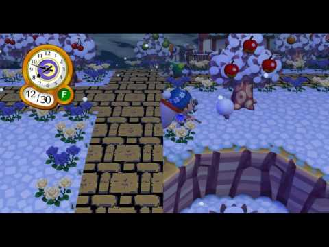 Animal Crossing: City Folk - Catching a Dung Beetle - 1080p HD [Dolphin Wii/GC Emulator]