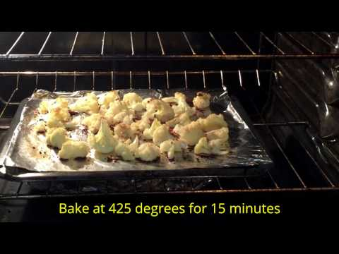 How to make baked Cauliflower
