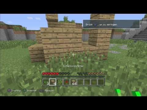 Minecraft PS3 Erster Eindruck (Deutsch)