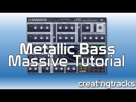 Massive Metallic House Pluck Bass Creating Tracks