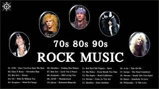 70s 80s 90s Rock Playlist | Best Rock Songs Of 70's 80's 90's