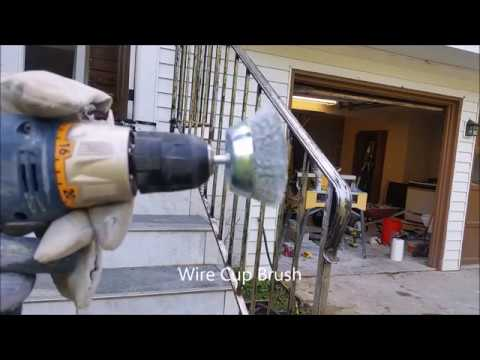 How to Use Wire Wheel Cup Brush - Clean Rust and Polish Metal