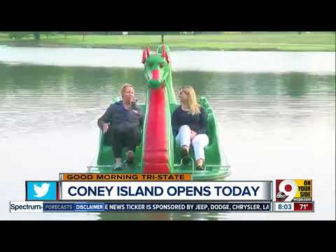 Take your own dragon out on the water at Coney Island