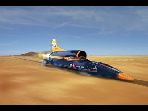 Faster than a bullet, 1000 MPH Record