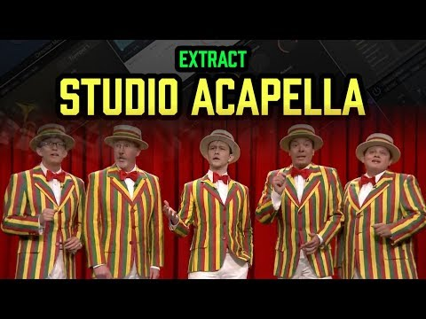 Easily extract Studio ACAPELLA from songs! 😱