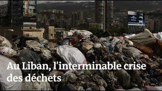 Un torrent de déchets envahit Beyrouth