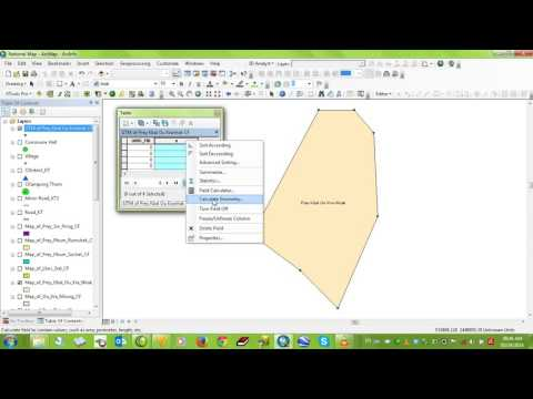 1 Feature Vertices to point - create map with Arcgis - learning center
