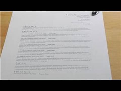 Teaching & Writing Tips : How to Write a Nursing Resume