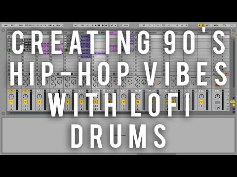Creating 90's Hip-Hop Vibes with LoFi Drums || Ableton Beatdown Series