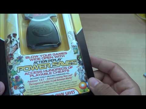 3DS Action Replay PowerSaves Unboxing