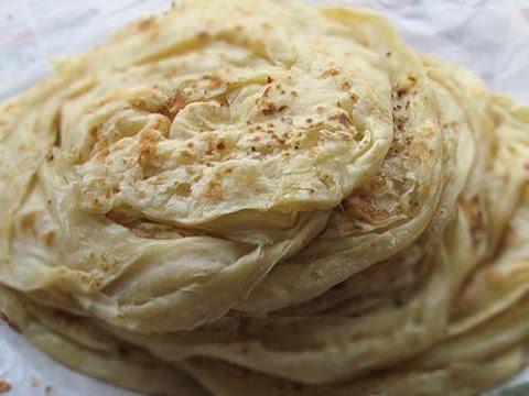 soft Parotta Paratha -  indian kuboos- flat bread recipe