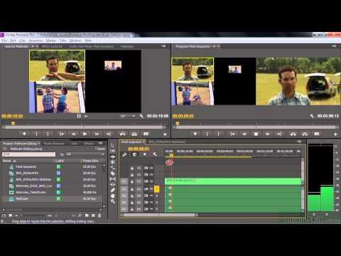 Adobe Premiere Pro CC Tutorial | Performing Multi-Camera Editing